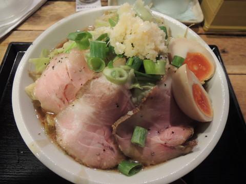 煮干四郎(中盛)(850円)