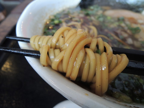 丹後ブラックの麺