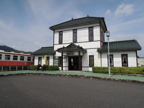 加悦SL広場(旧加悦鉄道加悦駅復元駅舎)