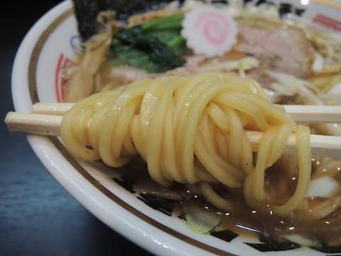 ストレート(並)の麺