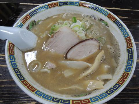 こく煮干し(手打麺)(700円)
