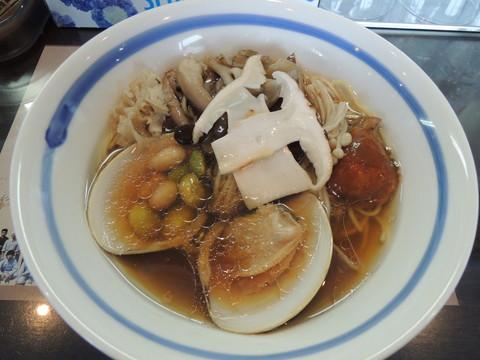 特製秋薫る正油らぁ麺(1200円)