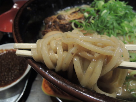 富士山プレミアムの麺