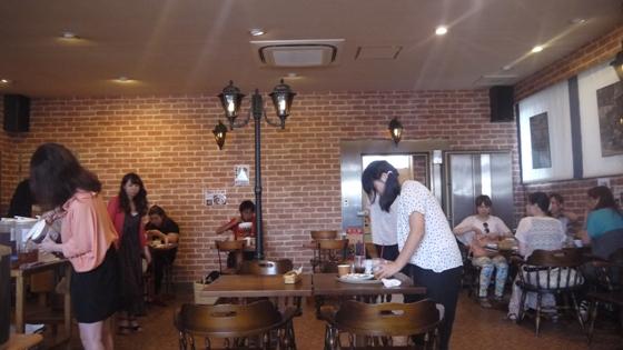 喫茶店 かまや内部