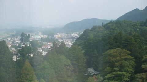 三仏堂 屋上景色