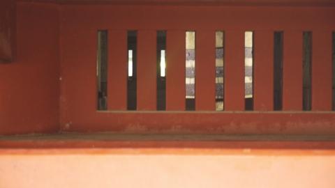 東照宮五重塔の大黒柱