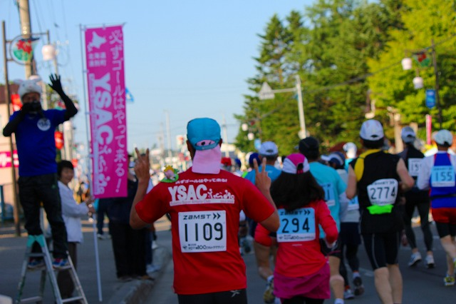 サロマ湖100キロマラソン 011
