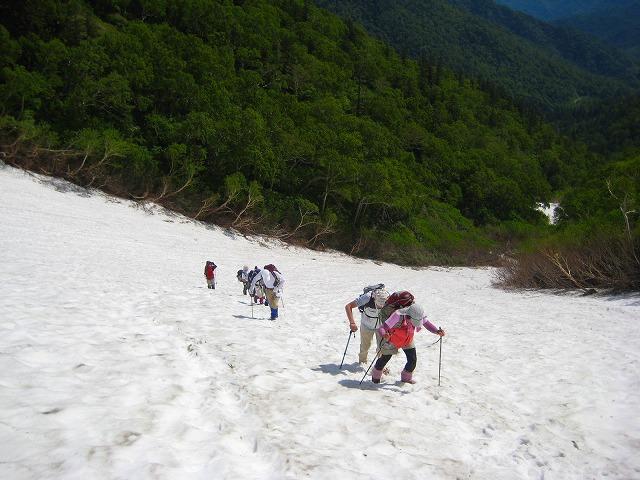 第一雪渓 (3)