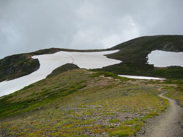 雪渓 (2)