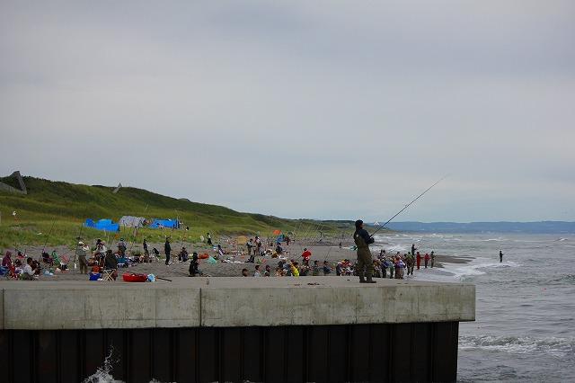 鮭釣り (3)
