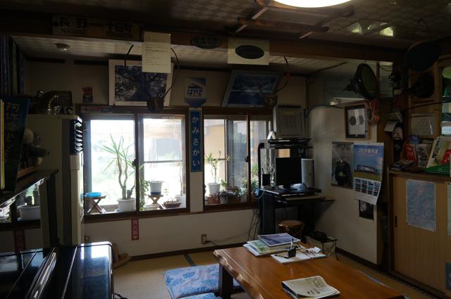 岸田屋さんのコレクションルーム