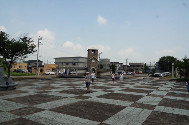 十日町駅西口公園のとある夏の日