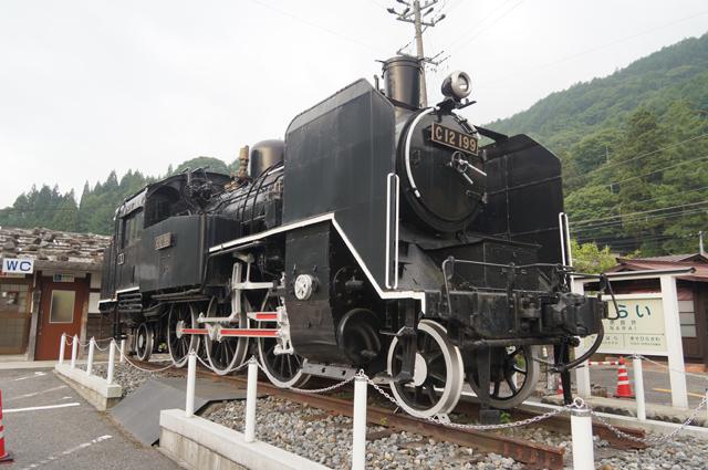 奈良井宿のC12 199