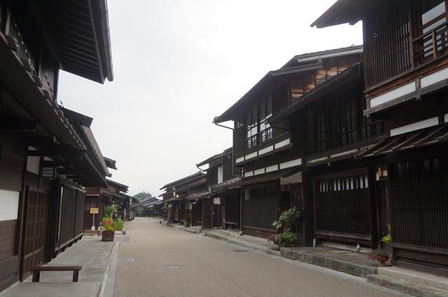 朝の奈良井宿