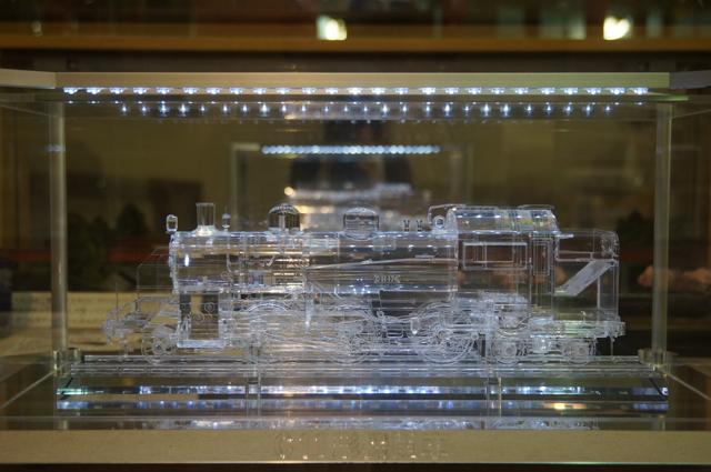 クリスタル蒸気機関車