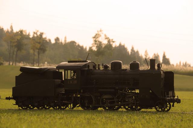 夕焼けC56 129