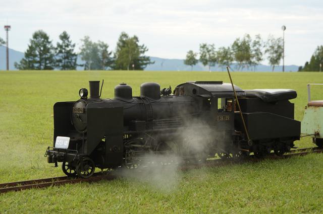 C56 129 津南でも「ただいま列車」