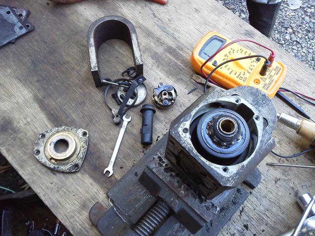 ボッシュ FF1 LS108 回転マグネトを分解調整する