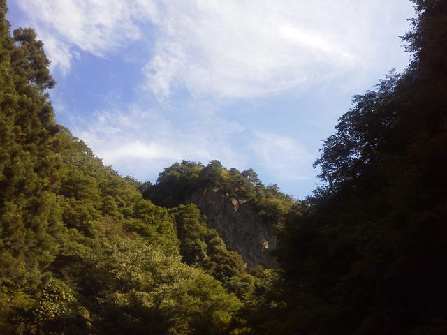 夏の終わりの神戸岩