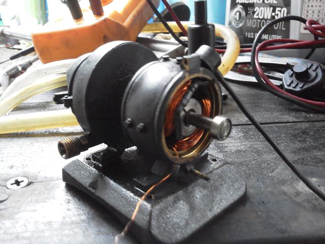 蒸気発電機の断線を修理