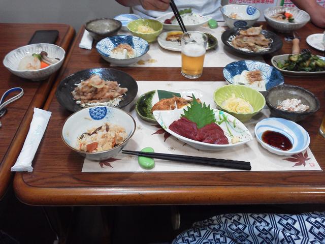 岸田屋さんの夕食