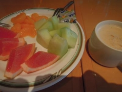 ホテル朝食-2