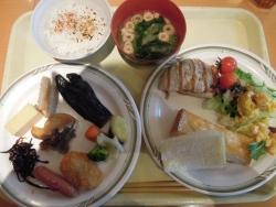 ホテル朝食-1