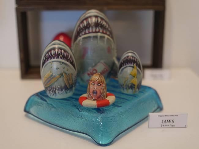 市川森作個展 JAWS-s
