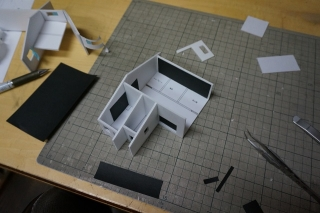 テスト撮影 模型1