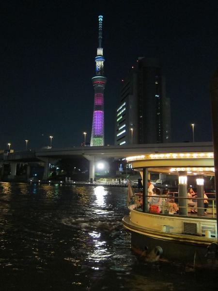 東京スカイツリー・ライトアップ39〔フリー写真〕