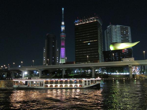 東京スカイツリー・ライトアップ40〔フリー写真〕