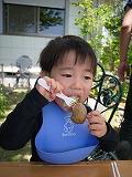 130505_BBQつーくん食べる (4)