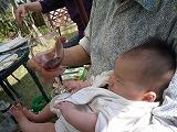 130505_BBQ奈々ちゃんとワイン