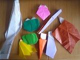 折り紙の野菜