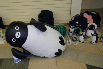 20130720-ICOCA ペンギンさんのさかざきちはる展 (5)-加工