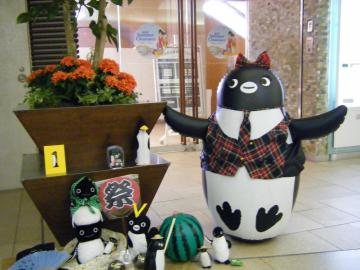 20130720-ICOCA ペンギンさんのさかざきちはる展 (24)-加工
