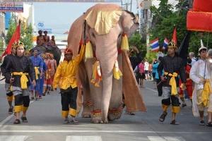 White Elephant, Surin, Thailand