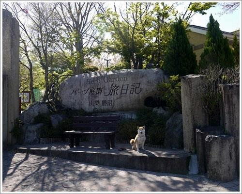 ハーブ庭園1