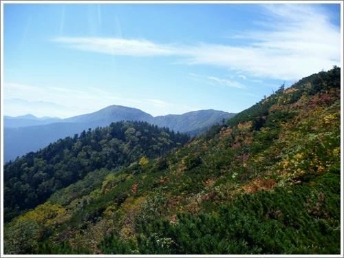 常念岳から蝶ヶ岳へ13