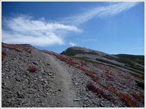 常念岳から蝶ヶ岳へ36