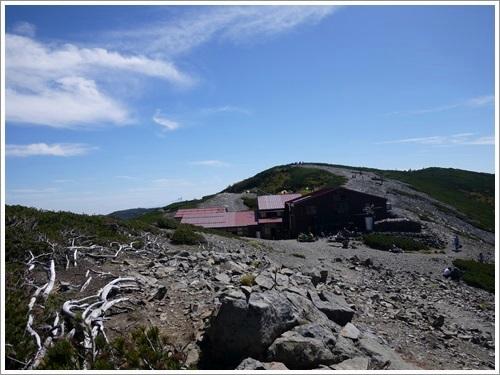 常念岳から蝶ヶ岳へ37