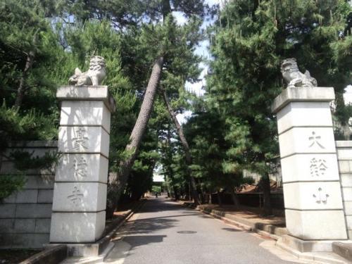 豪徳寺(参道入口)