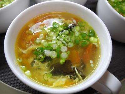 20131025トマトと木耳のスープ