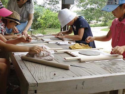 親子で陶芸体験2013-1