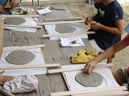 親子で陶芸体験2013-2