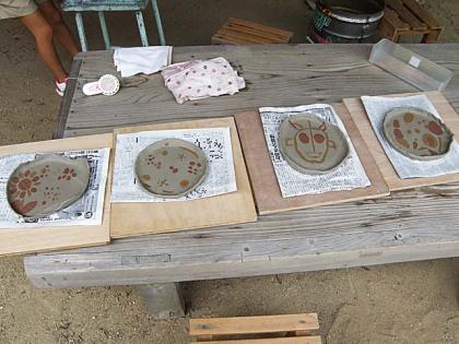 親子で陶芸体験2013-3