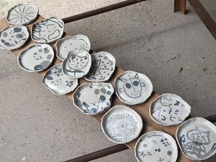 2013「親子で陶芸体験」作品完成1