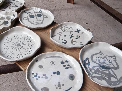 2013「親子で陶芸体験」作品完成2