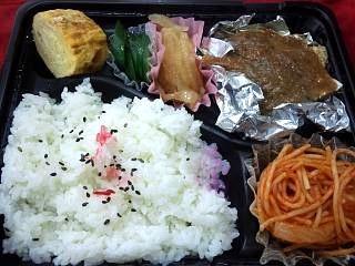 20130417鯖味噌煮弁当