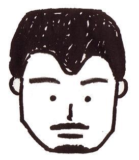 塾長似顔絵4